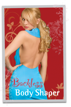 60707d4b9d Backless Body Shaper (Thong) • Soft Cup With removable push up pads for  Max-Cleavage. • Open crotch for convenience. • Multiway straps can be wear  backless